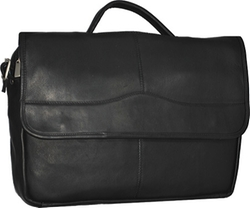 David King  - Leather 172 Porthole Briefcase