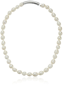 "Cole Haan  - ""Fresh Water Pearls"" Knotted And Metal Pearl Strand"