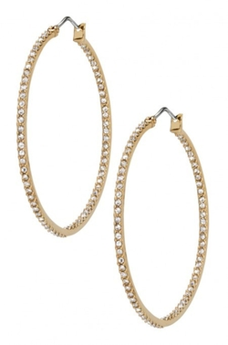 Stella & Dot - Delaide Hoop Earrings