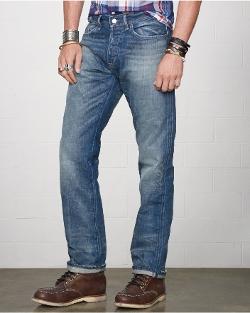 Ralph Lauren - Straight-Fit Traverse Jeans