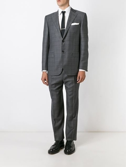Canali   - Windowpane Check Suit