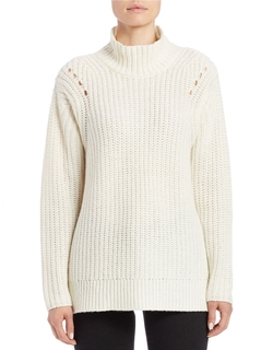 Lord & Taylor - Mock Turtleneck Sweater