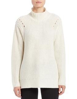 Lord & Taylor - Mock Turtleneck Sweater