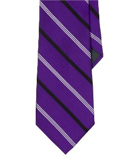 Lauren Ralph Lauren  - Bespoke Striped Silk Tie