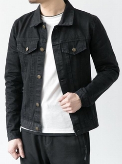 Unko - Relaxed Denim Trucker Jacket