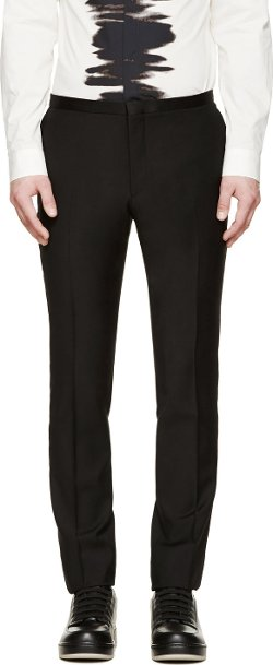 Calvin Klein Collection - Wool Tuxedo Trousers