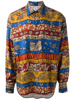 Jc De Castelbajac Vintage - Printed Shirt