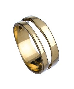 B/C Designs  - Portello Due Brass Ring