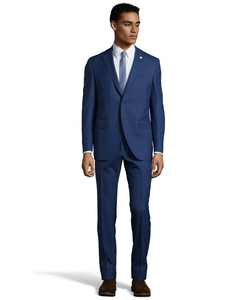 Lubiam - Pin Dot Wool 2-Button Suit