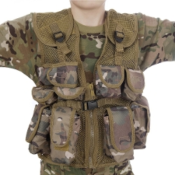 KAS - Kids Army All Terrain Camo Assault Vest