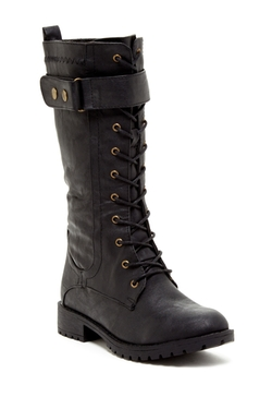 Bucco - Lace-Up Buckle Boot