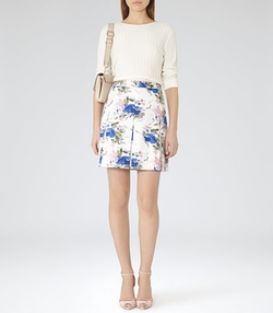 Sitara  - Reiss Printed Skirt