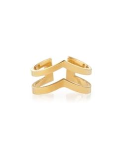Jennifer Zeuner - Gold Vermeil Midi Ring