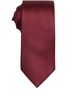 Laurent - Red Horizontal Striped Silk Tie