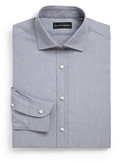 Ralph Lauren Black Label - Microcheck Gingham Dress Shirt