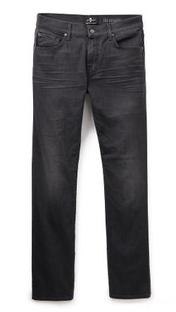 7 For All Mankind  - Luxe Performance Straight Jeans