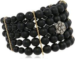 Fern Freeman  - Bead Cuff Bracelet