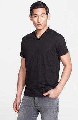 Z Zegna  - Jersey V-Neck T-Shirt