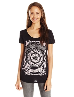Metal Mulisha  - Moonlight Scoop Neck Graphic Tee