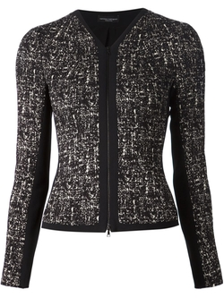 Narciso Rodriguez   - Printed Tweed Jacket