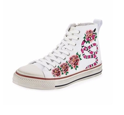 Ash - Vanina Embroidered High-Top Sneakers
