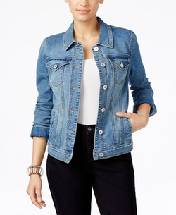 Style & Co. - Stretch Denim Jacket