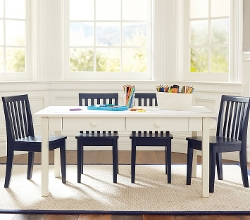 Pottery Barn Kids - Carolina Craft Table & 4 Chairs Set