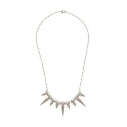 Noir - Nomy Triple Spike Pendant Necklace