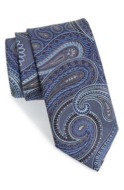 John W. Nordstrom - Beasley Pine Paisley Silk Tie
