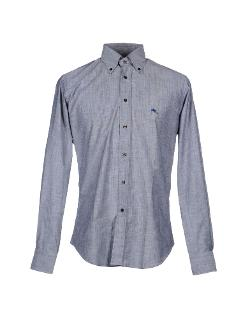 Etro - Solid Button Down Shirt