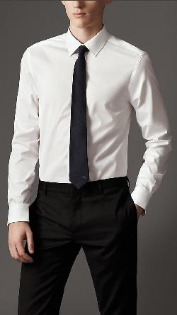 Burberry - Modern Fit Cotton Shirt