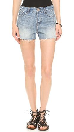J Brand  - Carly Rigid Denim Shorts