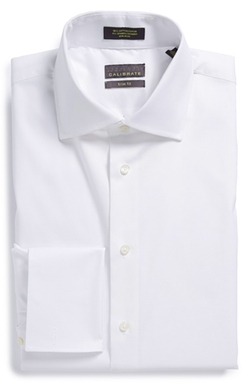 Calibrate - Trim Fit French Cuff Dress Shirt