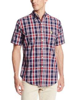 U.S. Polo Assn.  - Slim Fit Short Sleeve Button Down Sport Shirt