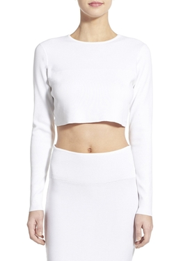 Kendall & Kylie - Crop Knit Sweater