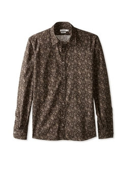 J.Lindeberg  - Dani CL Placket Botanic Tone Long Sleeve Shirt