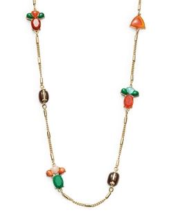 Kate Spade New York - Fine Art Charm Station Necklace