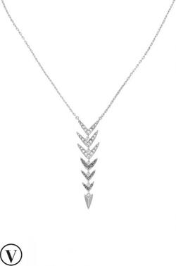 Stella & Dot - Arrow Drop Necklace