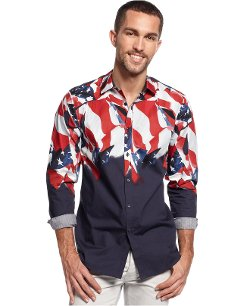 INC International Concepts - Yankee Slim-Fit Shirt
