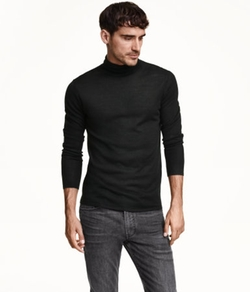 H&M - Wool-Blend Turtleneck Sweater