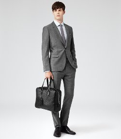 Reiss - One Button Peak Lapel Suit
