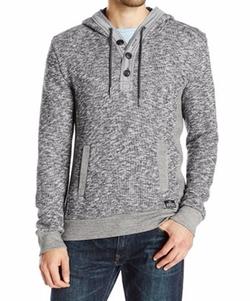 Buffalo David Bitton - Fimley Long Sleeve Hooded Sweater