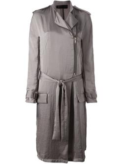 Haider Ackermann   - Epaulettes Belted Coat