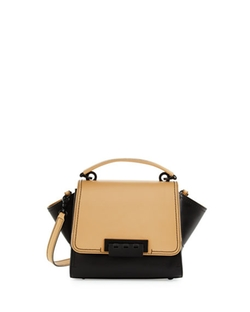 Zac Posen  - Eartha Colorblock Leather Mini Crossbody Bag