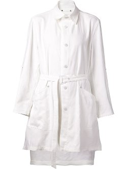 Issey Miyake  - Belted Coat
