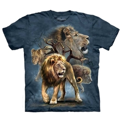 Element - Lion Collage T-Shirt