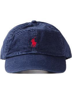 POLO RALPH LAUREN  - logo embroidered baseball cap