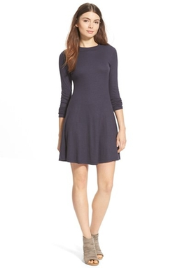 Lush - Long Sleeve Knit Dress
