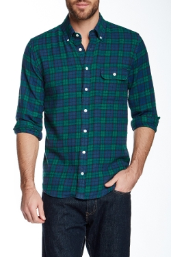Gant By Michael Bastian  - Blackwatch Flannel Shirt
