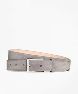 Brooks Brothers - Suede Beveled Edge Belt